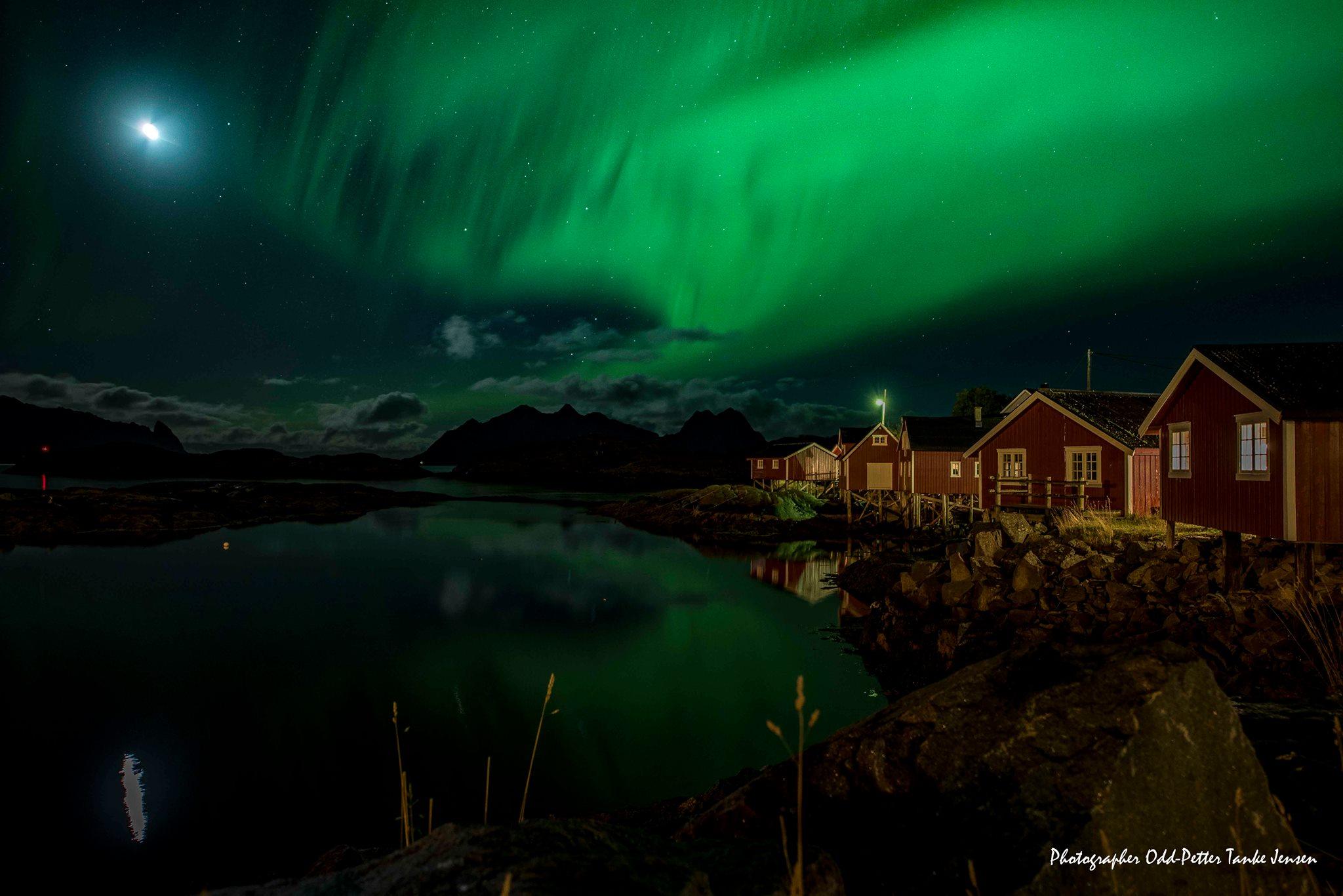 Zájezd Norsko - Lofoty, Polární záře