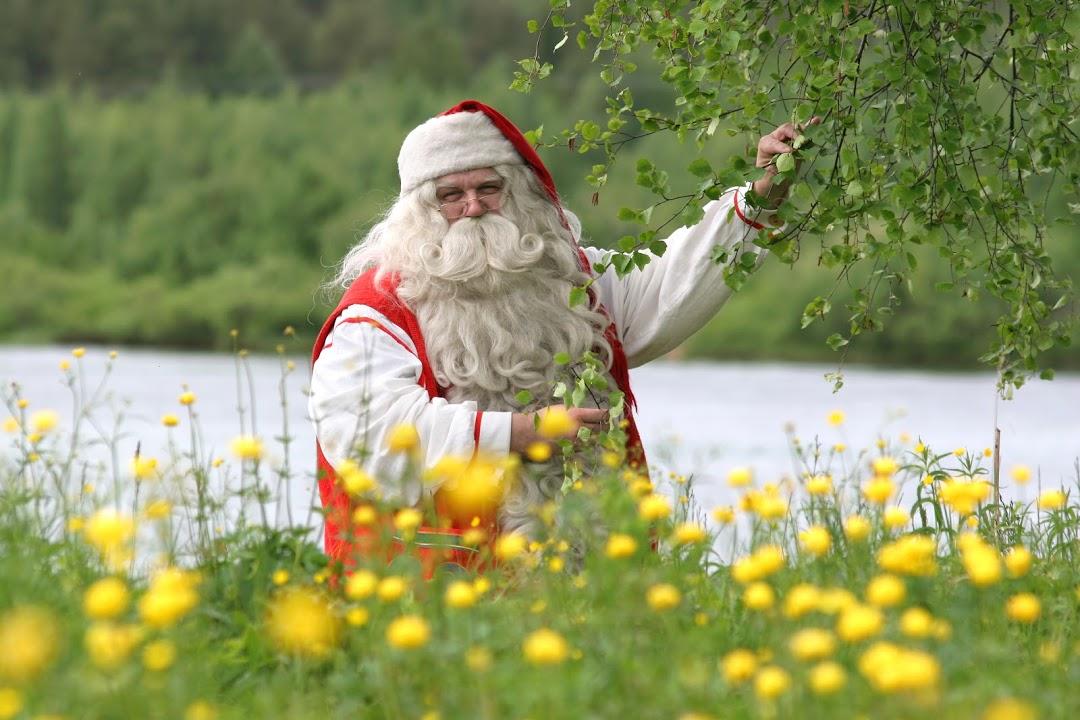 Rovaniemi, městečko Santa Clause v létě