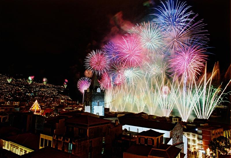 Silvestr na Madeiře