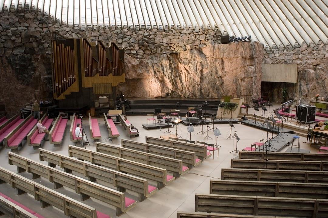 Skalní chrám – Temppeliaukio kirkko