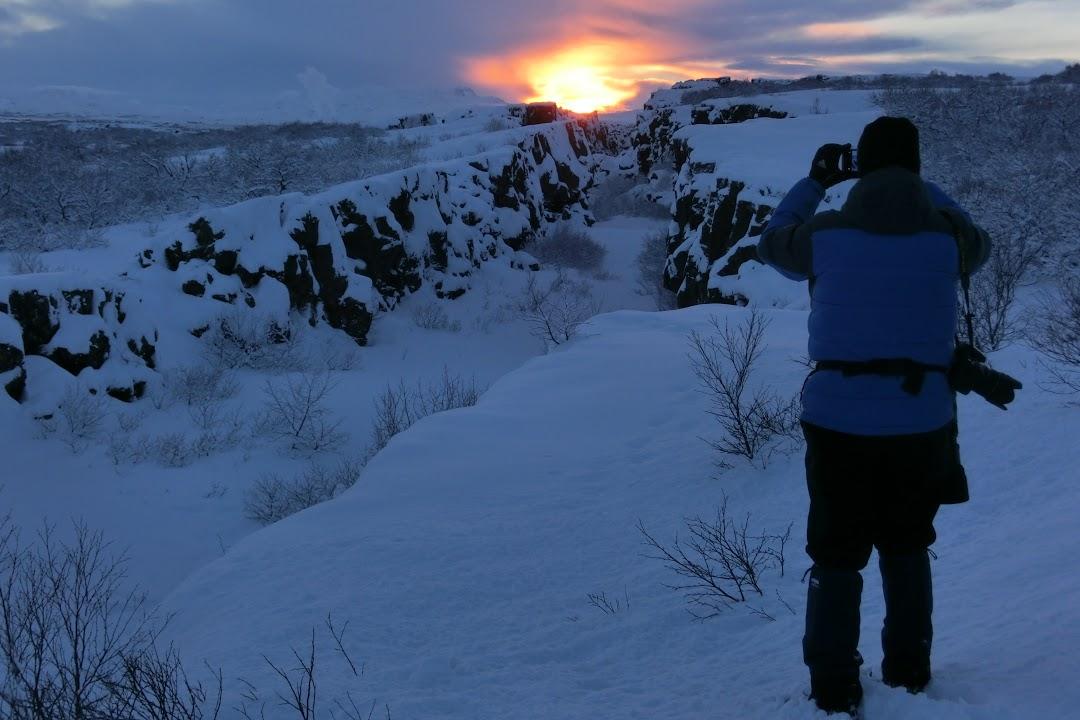 Skryté kouzlo západu islandského slunce