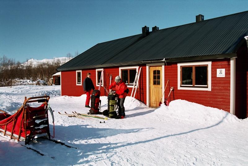 Slunce a mráz, švédské Laponsko