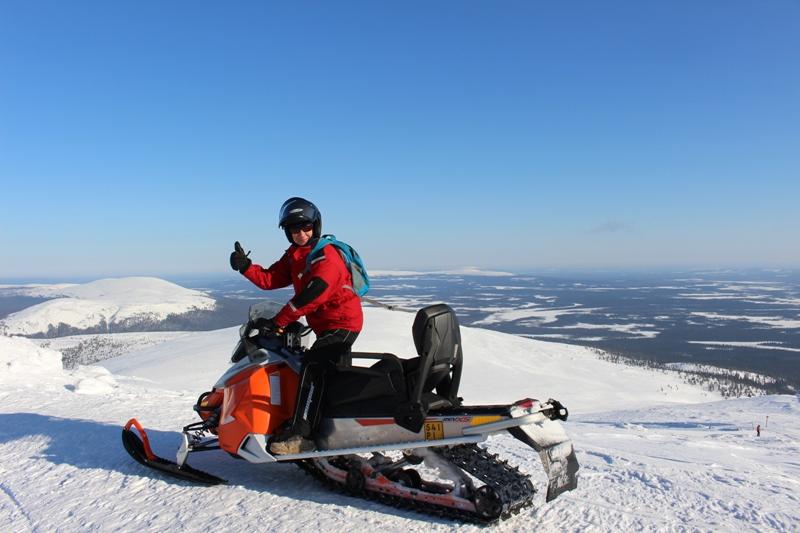 Sněžné skutry - oblíbená zimní zábava
