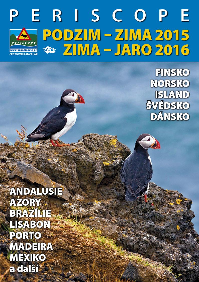 Redakce - Infoscope - z katalogu / Titulka - katalog Podzija 2015-16