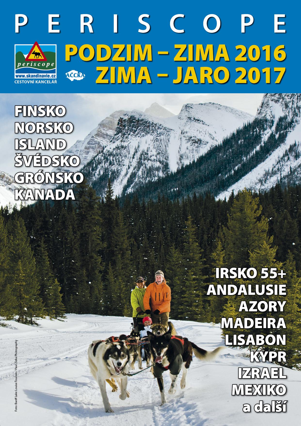 Letáky / Titulka katalogu Podzija 2016/2017