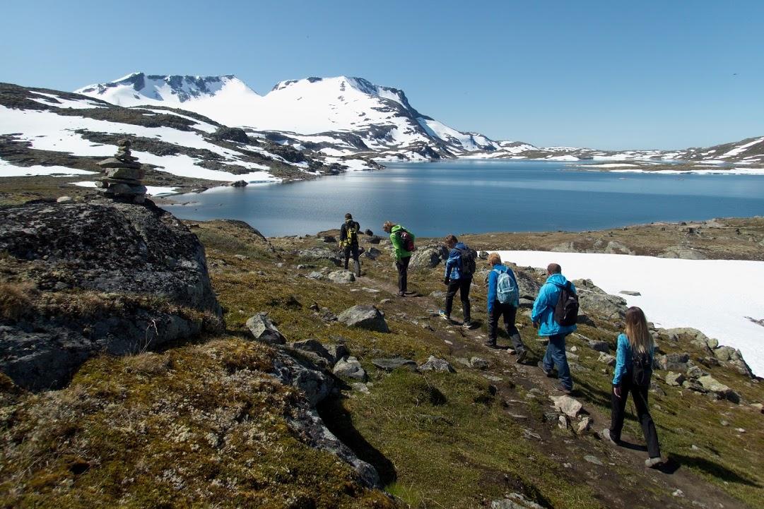 Túra na ledovec pod Fanaraken