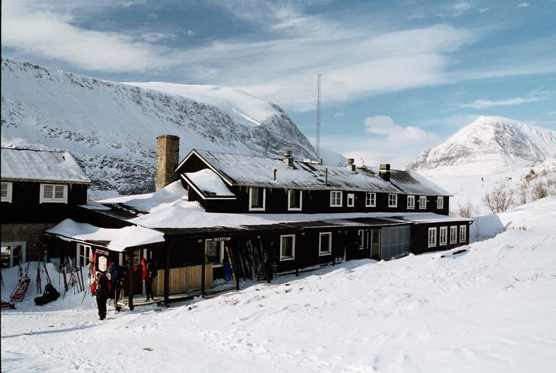 Turistická chata Kebnekeise