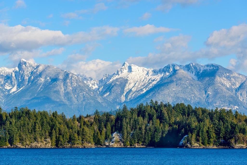 Vancouver a jeho okolní hory