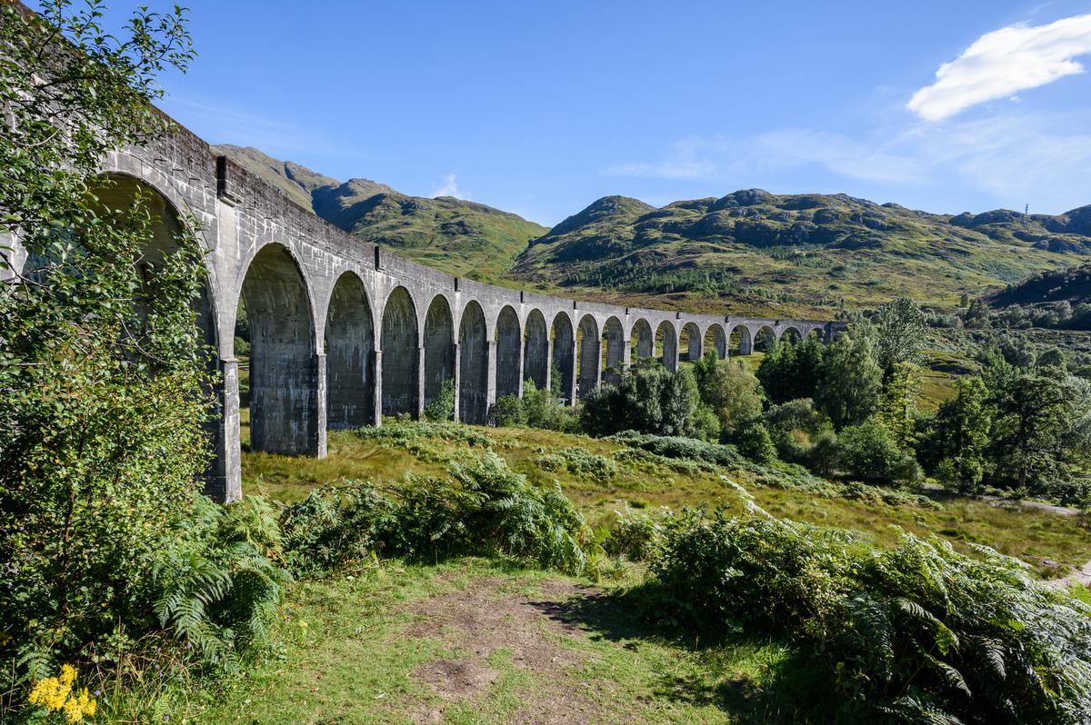 Viadukt v Glenfinnanu