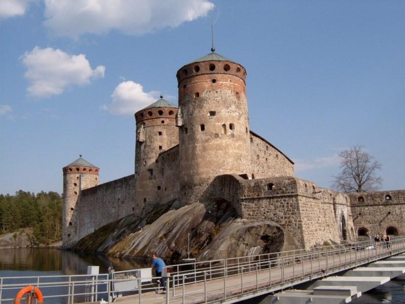 Vodní hrad Olavenlinna