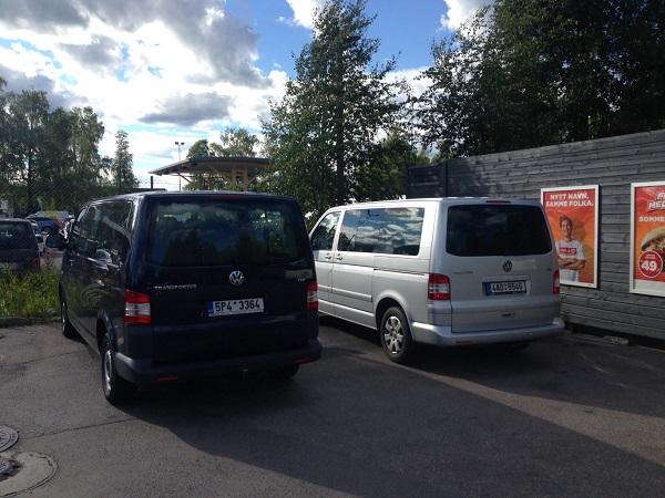 Transportery / VW Transporter, 8+1 míst, dlouhá verze 3