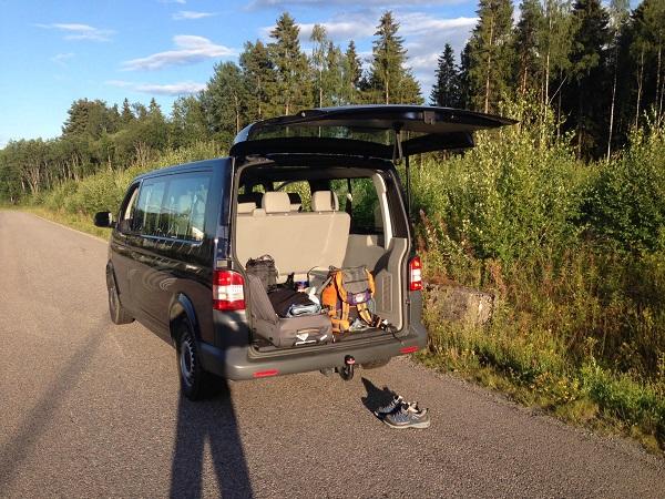 VW Transporter, 8+1 míst, dlouhá verze 5