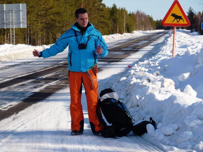 Cestovali svámi / Zimní Laponsko - na stopu kSámům čeká novinář Tomáš Poláček.